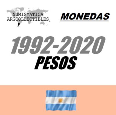 1992-2020 Pesos