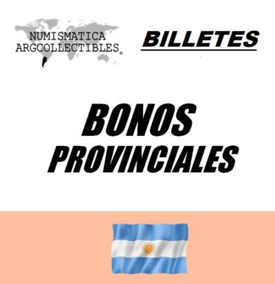 Bonos Provinciales