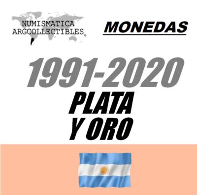 1991-2020 Plata y Oro