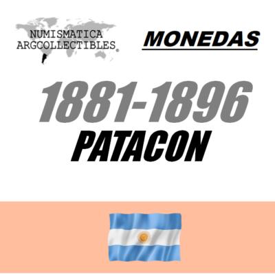 1881-1896 Patacon