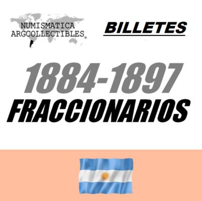 1884-1897 Fraccionarios