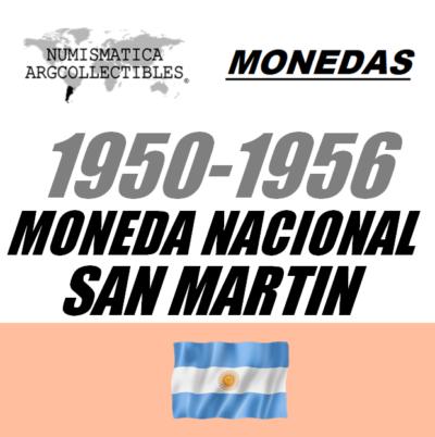 1950-1956 Mon. Nac. S. Martin