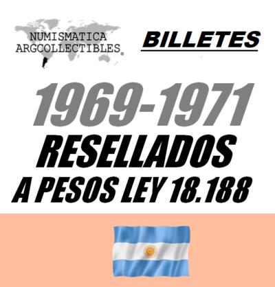 1969-1971 Resellados a P. Ley