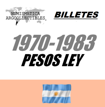 1970-1983 Pesos Ley
