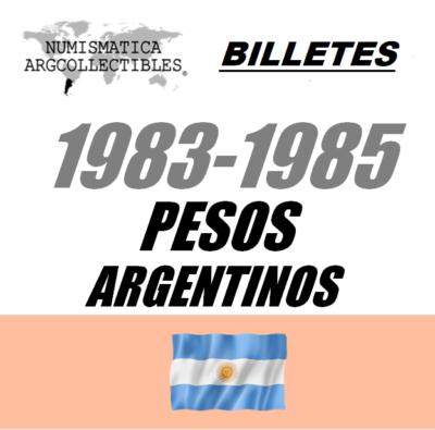 1983-1985 Pesos Argentinos