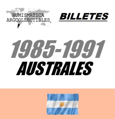 1985-1991 Australes